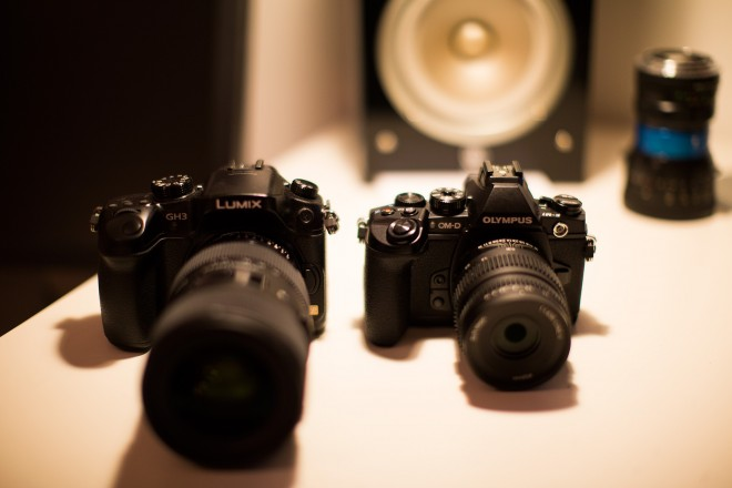 GH3 and OM-D E-M1