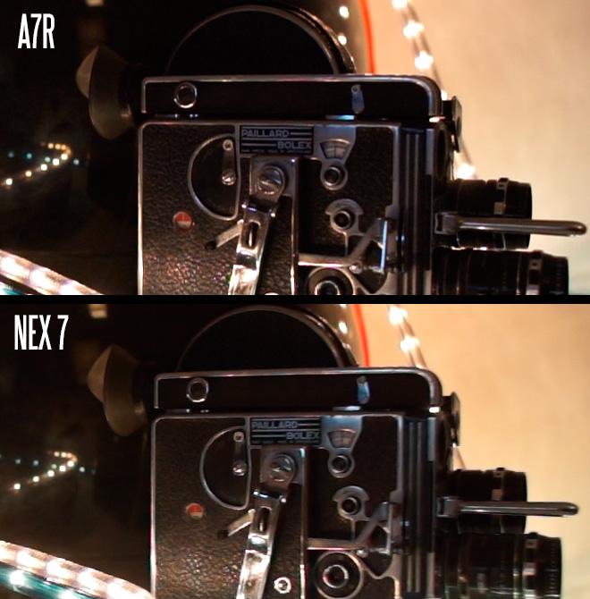 A7R vs NEX 7