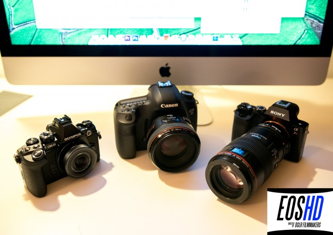 Olympus E-M1 vs 5D Mark III vs Sony A7R