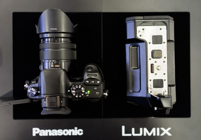 Panasonic GH4 and external HD-SDI XLR unit