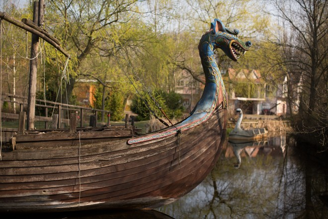 Spreepark pirate ship