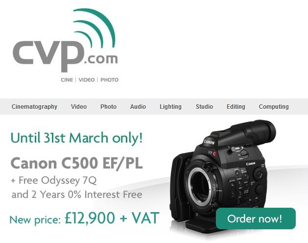 cvp c500 promo