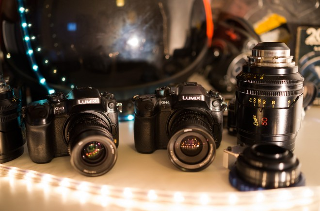 GH3 and GH4 with Cooke and SLR Magic lenses
