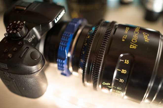 Panasonic GH4 and Cooke Panchro/i 50mm T2.8