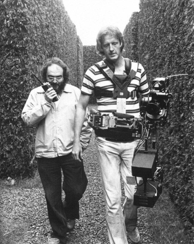 Stanley Kubrick and Garett Brown