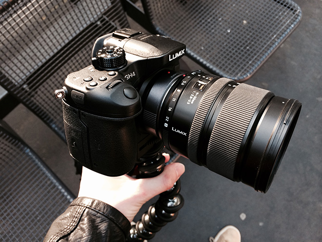 GH4 with Leica 14-50mm F2.8-F3.5