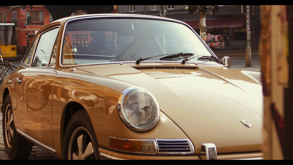 Porsche, shot on the GH4 in 4K video mode