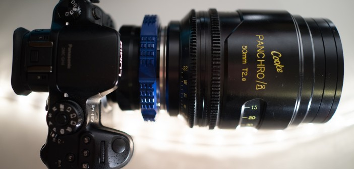 Panasonic GH4 - with Cooke Panchro Cinema lens