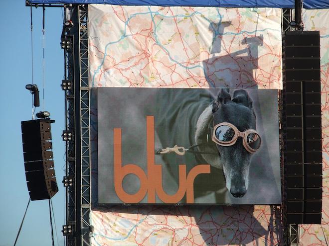 Blur Hyde Park gig