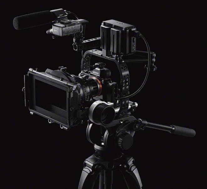 Sony A7S rig