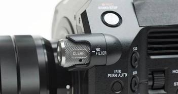 Sony FS7 ND filter wheel