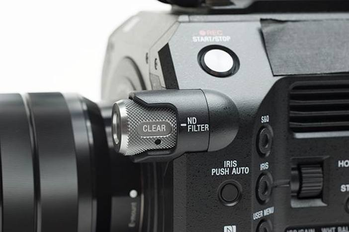 Sony FS7 ND filter wheel