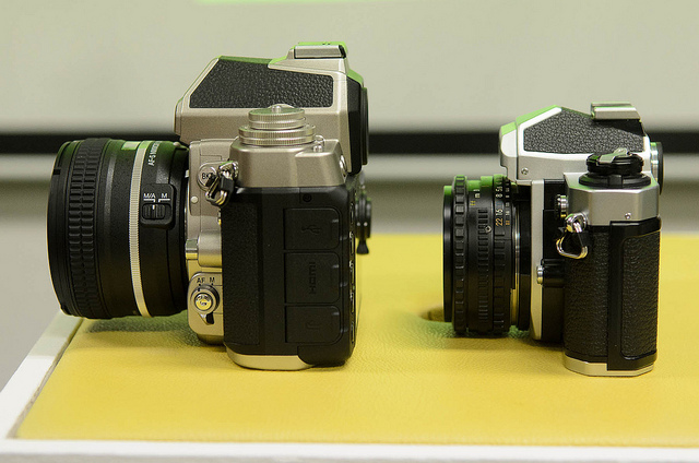 Nikon Df and FM