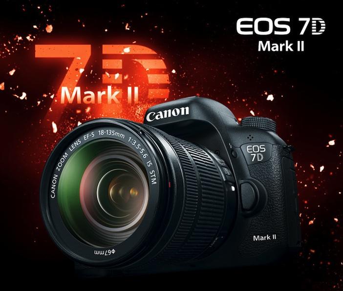 Canon 7D Mark II video specs