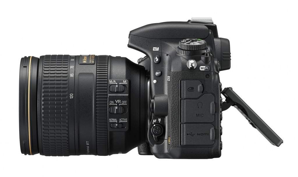 D750 side view