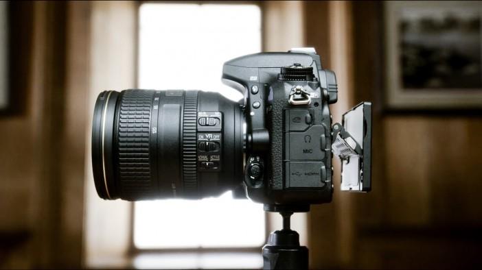 Nikon D750 screen