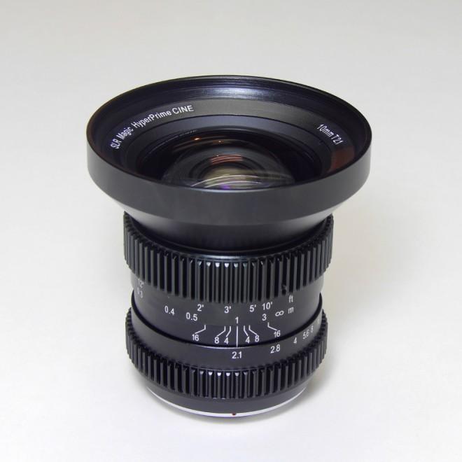 SLR Magic 10mm T2.1 front