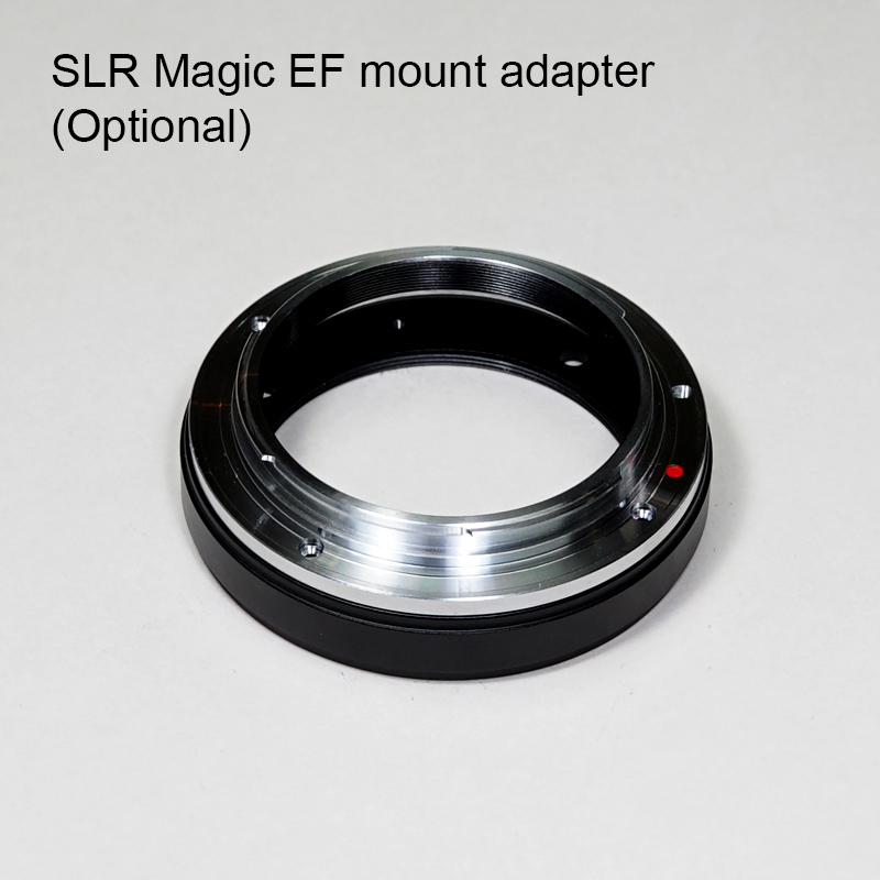 SLR Magic EF adapter for APO 50mm T2.1
