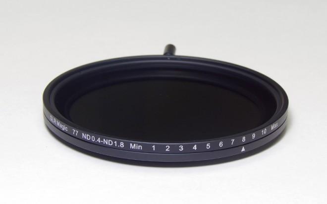 SLR Magic ND filter 77