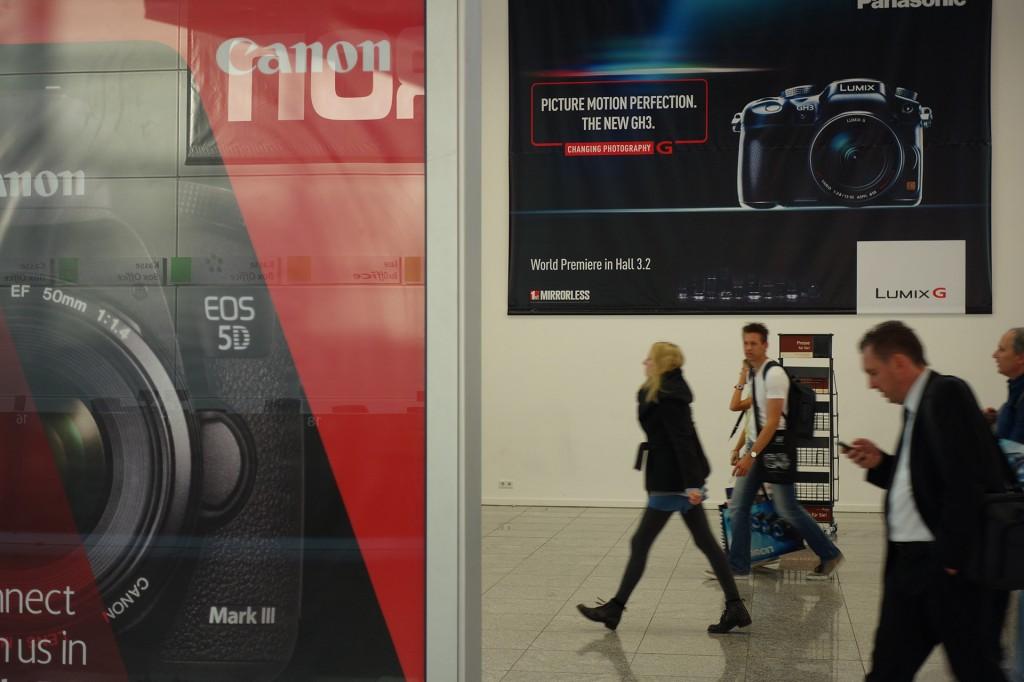 Canon 5D advert, Photokina 2012