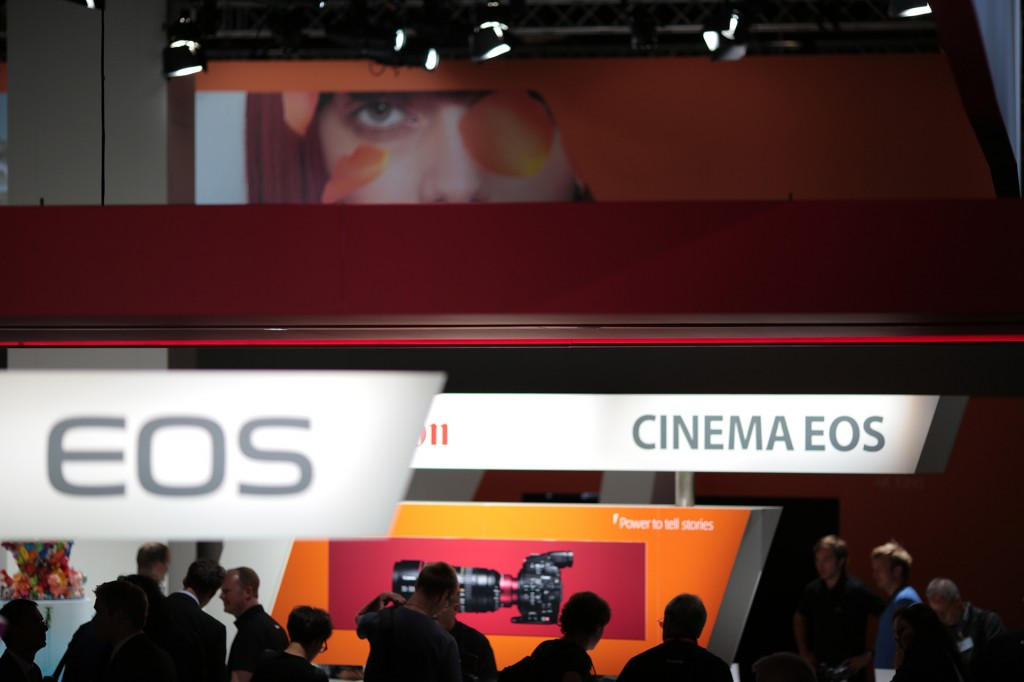 Canon Cinema EOS at Photokina