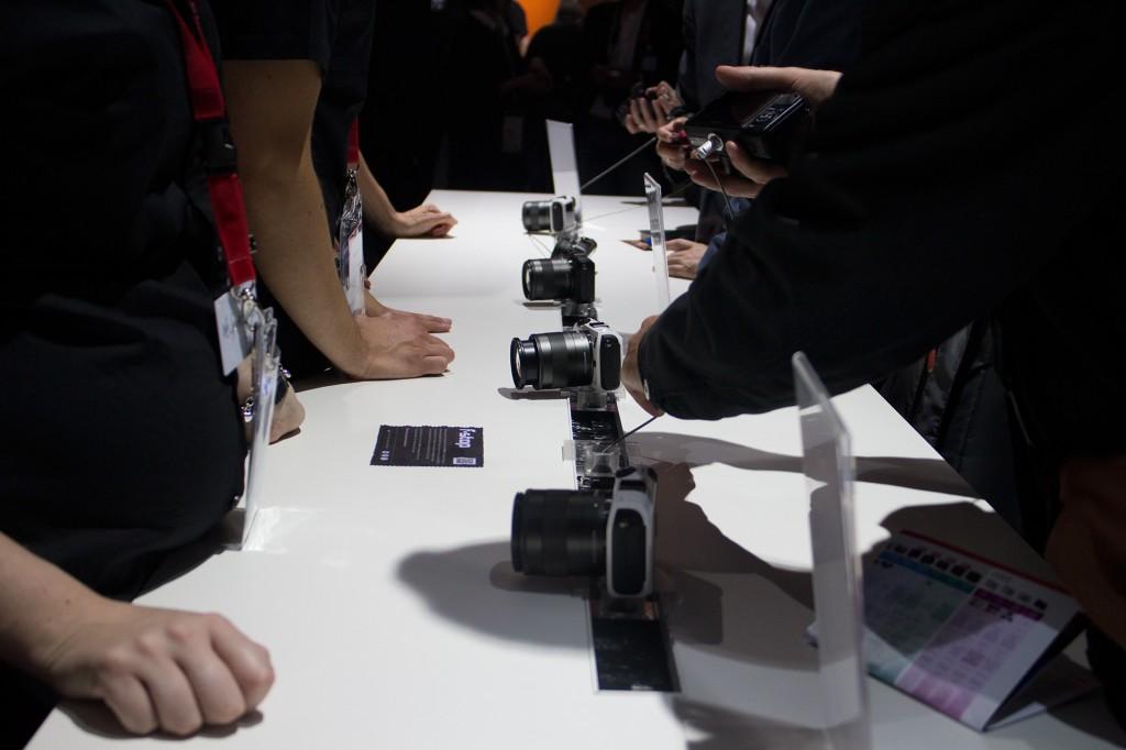 Canon EOS M at Photokina