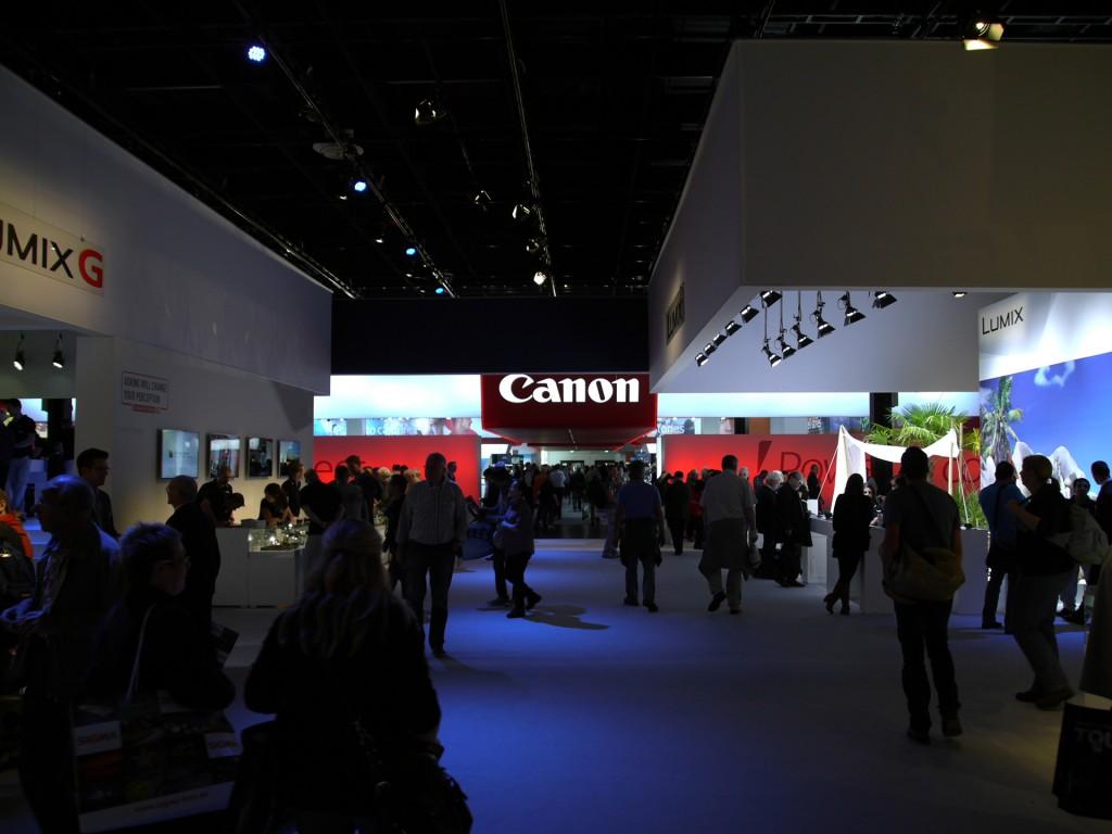 Canon at Photokina