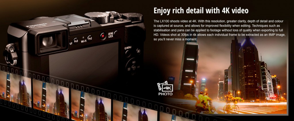 LX100 4K video