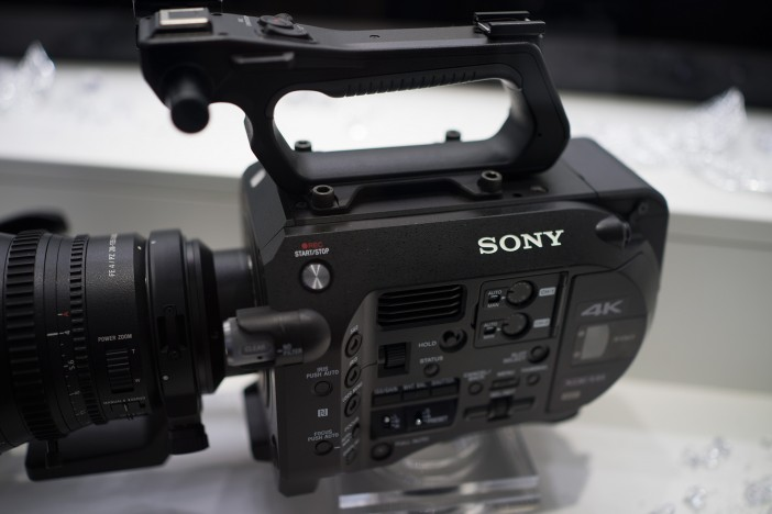 The Sony FS7 ergonomics are more than fit for the jobs the camera is designed for - and it's versatile