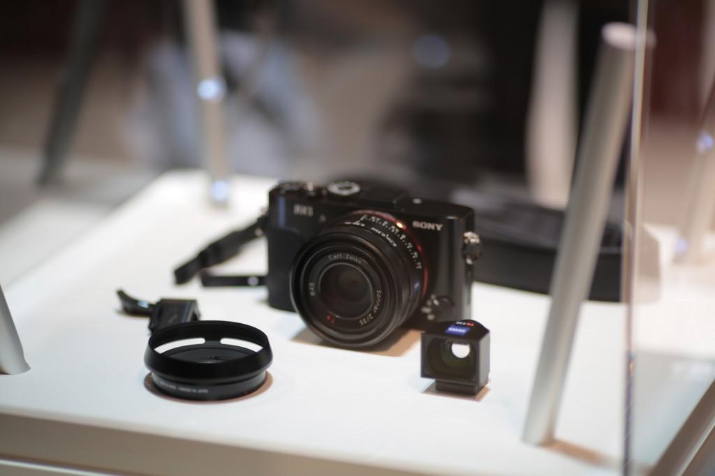 Sony RX1 at Photokina