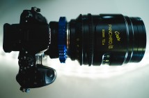 GH4 with Cooke cinema lens