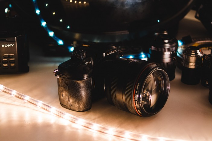 Panasonic GH4 with Canon 85mm F1.2L