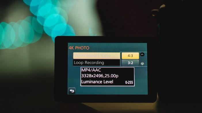 Panasonic GH4 firmware update version 2.0 and 4K Photo Mode
