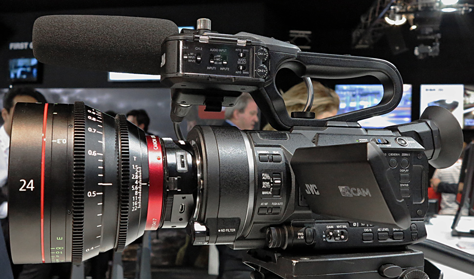 Surprise! 4K Super 35mm JVC GY-LS300 costs just $4K - EOSHD