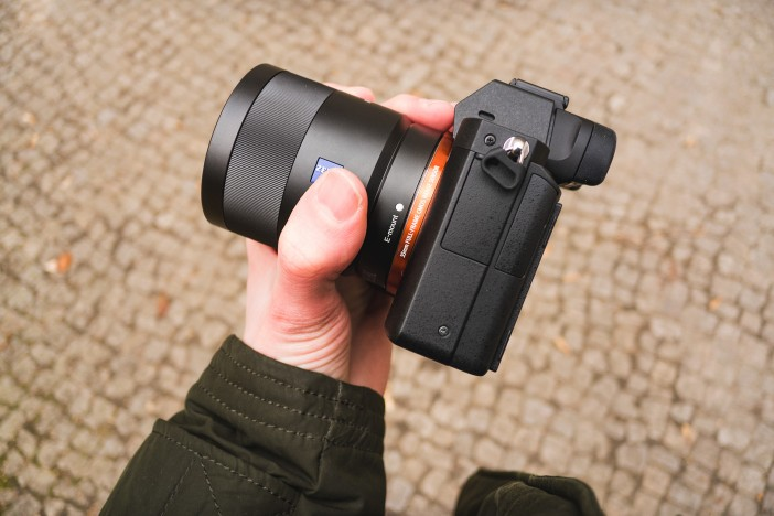 A7 II is noticeably thicker than the previous models