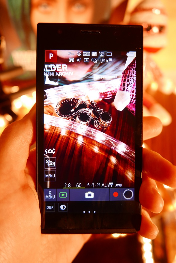 The camera user interface is generally very solid on the CM1 and responsive