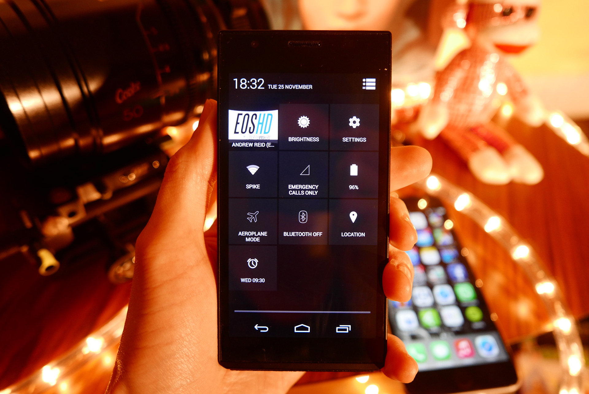 Android options on the CM1