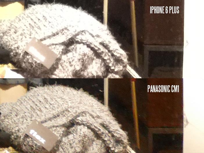 Panasonic CM1 highlight retention