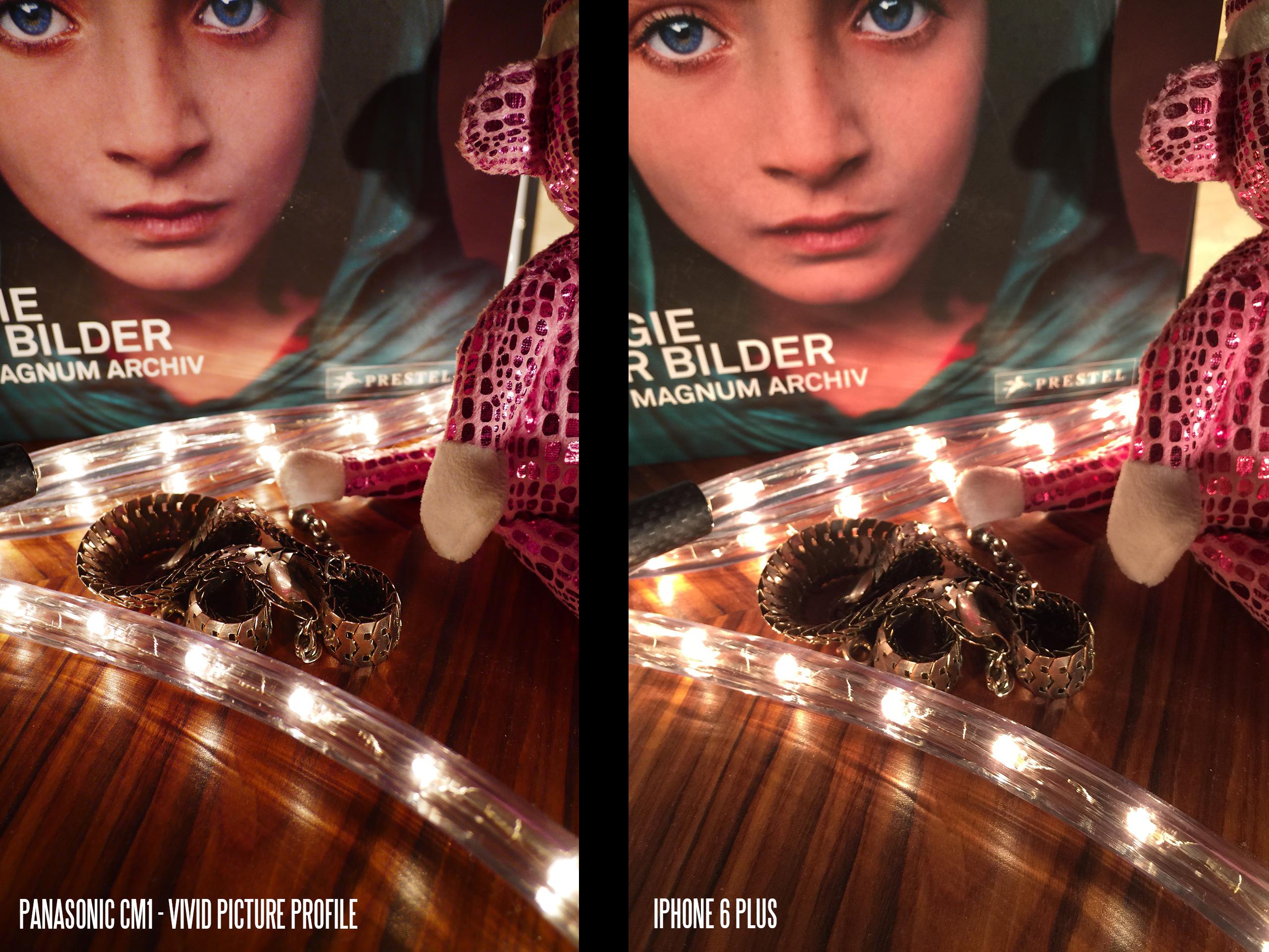 Camera - Panasonic CM1 vs iPhone 6 Plus