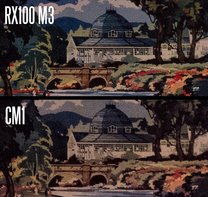 CM1 vs RX100 M3
