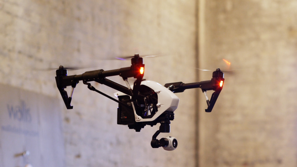 "DJI Inspire 1 – all new ""Hollywood 4K drone"" for under $3000"
