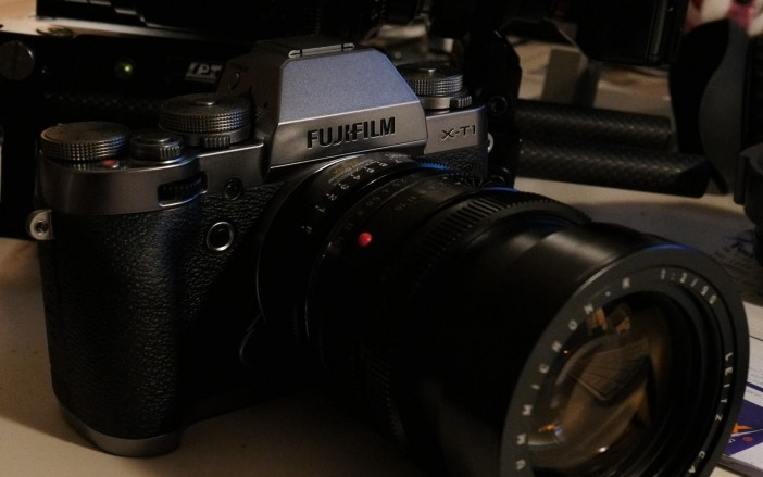 Panasonic GH4 - ISO 1600 - crop from 4K video frame