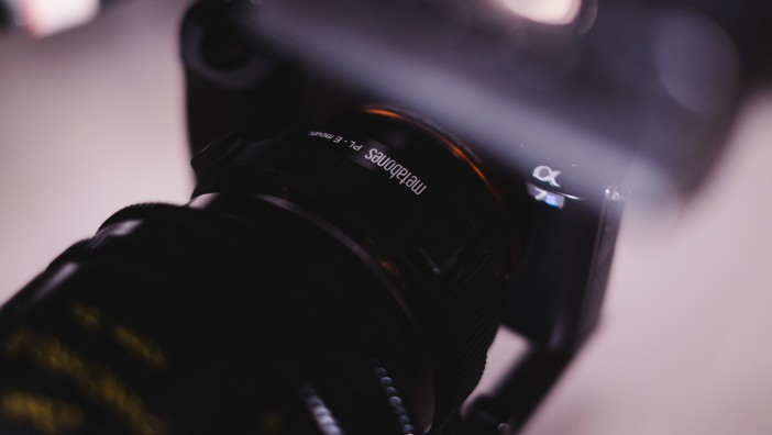 Sony A7s with Metabones PL adapter and Cooke S4i Mini