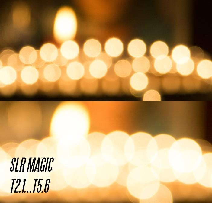 SLR Magic bokeh