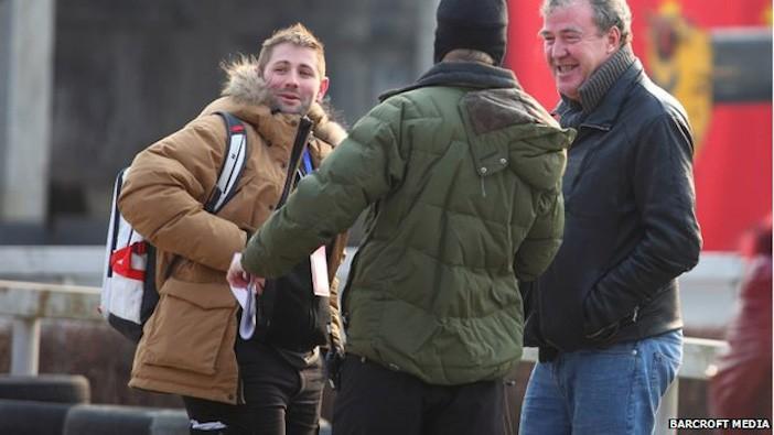Oisin Tymon, a producer on Top Gear with Clarkson - the pair were involved in a fracas