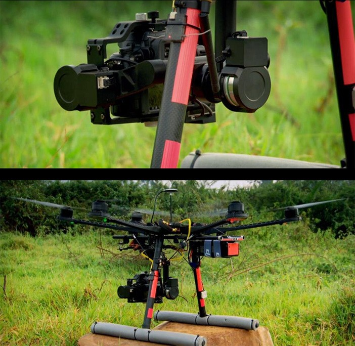 "The ""Top Gear"" GH2 drone"