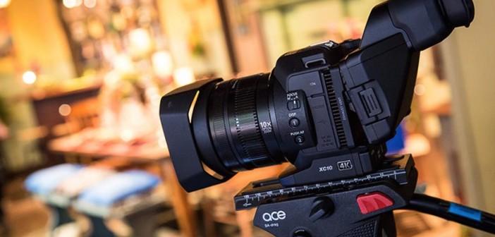 Canon XC10 drone