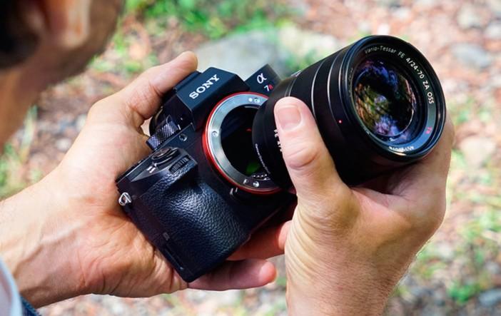 Sony A7R II lens mount