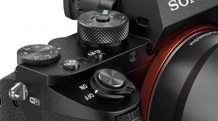 Sony A7R II - dials