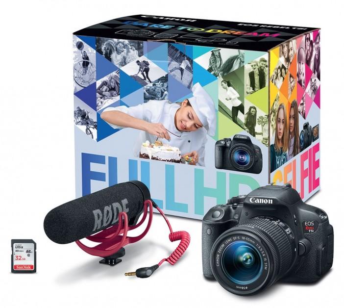 Canon T5i bundle for aspiring filmmakers